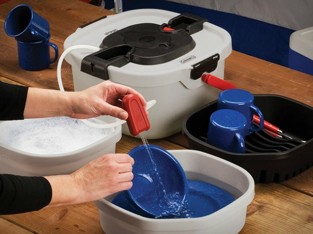 Coleman All in e Portable Sink GetdatGad