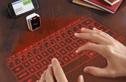 Laser Projection Virtual Keyboard