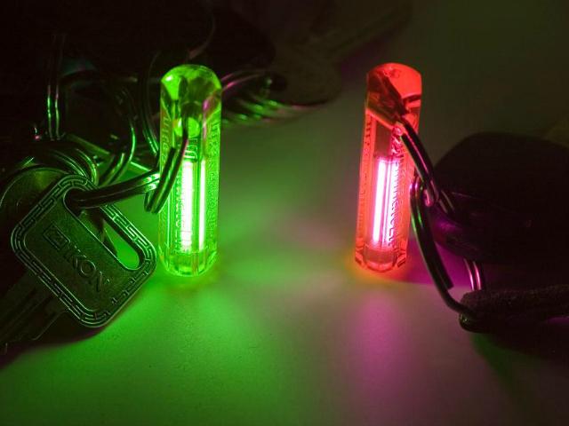 Night Glowring Keyring
