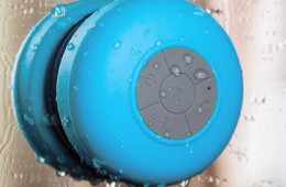 Splash Shower Tunes Bluetooth Shower Speaker