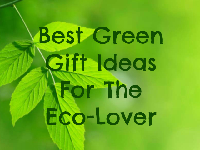 Best Green Gift Ideas For The Eco Lover Getdatgadget