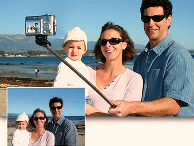 Extendable Handheld Selfie Stick