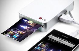 LG Pocket Photo Mini Mobile Printer