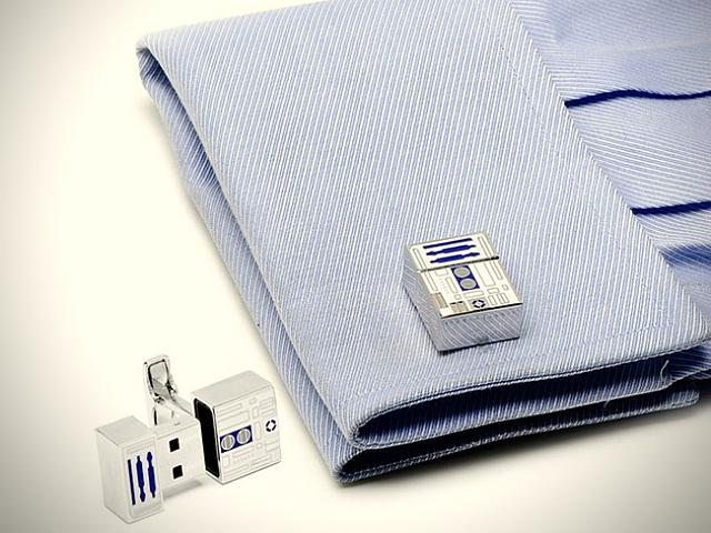 R2-D2 USB Cufflinks
