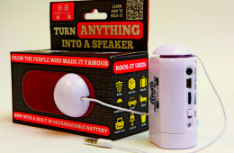 OrigAudio Rock-It Vibration Speaker System