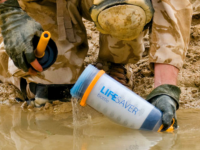 Lifesaver 4000 Ultra Filtration Water Bottle