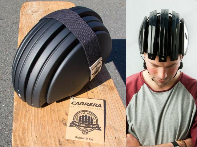 Carrera Foldable Helmet Fold It When Not Needed