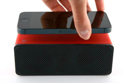 Drop N Play Wireless Speaker Requires No Bluetooth or Wifi