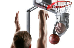 Shoot-Around Ball Return Trains You Into a Basketball Shooting Pro