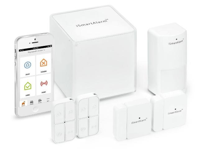 ismartalarm the affordable home security system getdatgadget. Black Bedroom Furniture Sets. Home Design Ideas