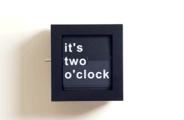 Slow Down Time with the Quarter Word Clock