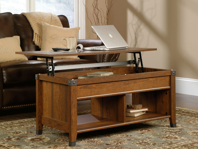 coffee table that turns into a desk 2