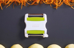 Switch Twin Blade Peeler – 1 Peeler, 2 Cuts