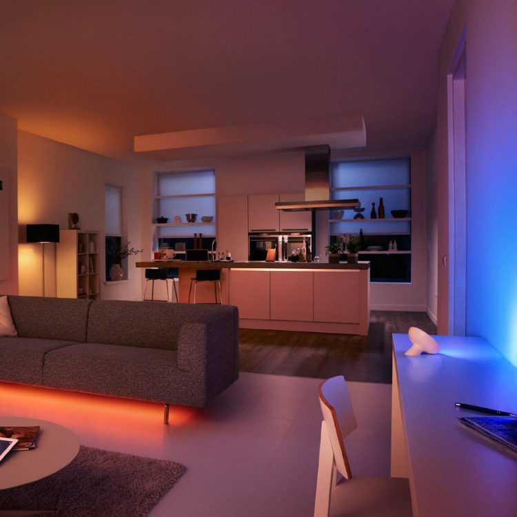 save energy with philips hue personal wireless lighting starter pack getdatgadget. Black Bedroom Furniture Sets. Home Design Ideas