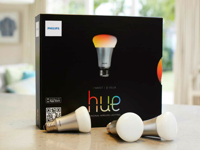 save energy with philips hue personal wireless lighting starter pack. Black Bedroom Furniture Sets. Home Design Ideas