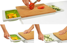 Chef'n PrepStation – Eco-Friendly and Handy Cutting Board