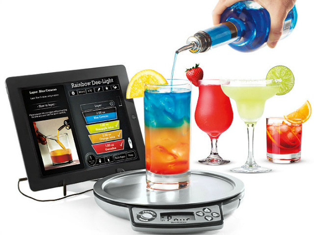 Top 10 gadgets for your man cave getdatgadget for Perfect drink smart scale