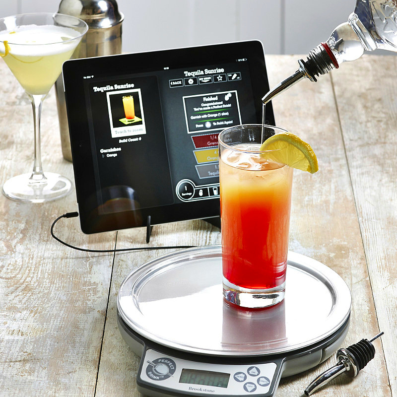 Perfect drink app controlled smart bartending makes the for Perfect drink smart scale and app