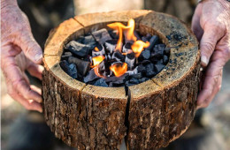 Burnie Portable Campfire – No Waste & No Cleanup