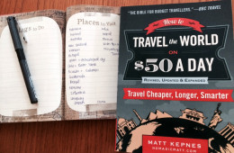 "Discover Traveling on a Shoestring Budget with ""How to Travel the World on $50 a Day"""