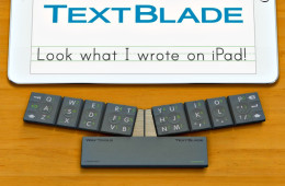 TextBlade – The Future of Portable Keyboards is Here