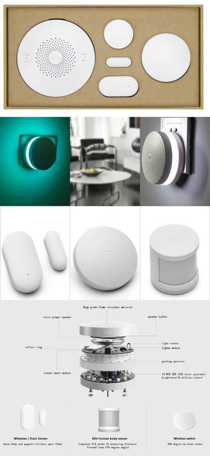 xiaomi smart home kit. Black Bedroom Furniture Sets. Home Design Ideas