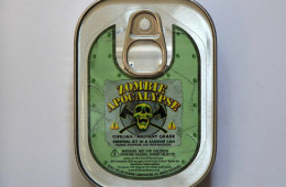 Zombie Apocalypse Survival Kit in a Sardine Can – The Perfect Survival Kit