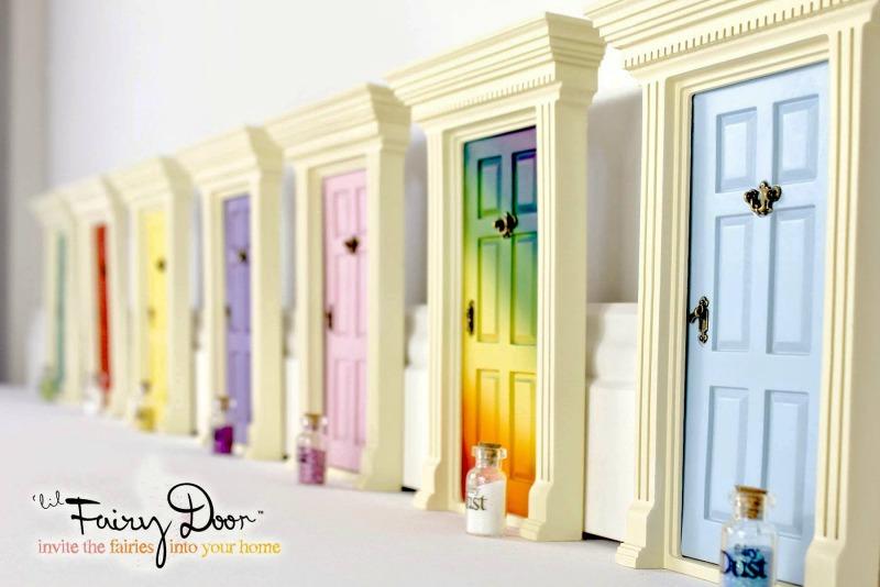 Create a magical portal with the 39 lil fairy door for The magic fairy door