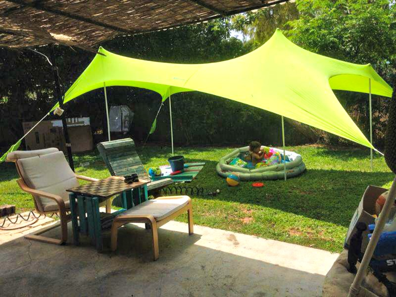 Otentik-SunShade-5.jpg & Otentik SunShade: Beach Tent the Size of a Rolled-up Towel ...