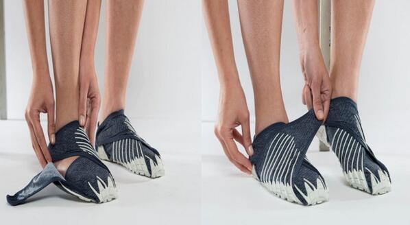 Chaussure minimaliste Vibram-Furoshiki
