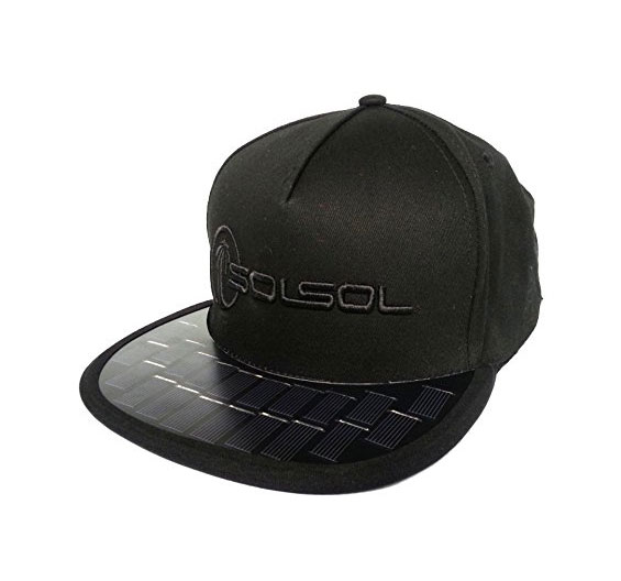 Solsol Cap Charges Your Phone While You Have Fun Under The