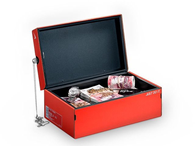 Mandem Safe Disguises a Safe as a Shoebox