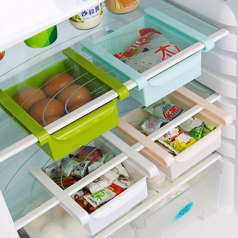 Double Your Storage Space With The Refrigerator Sliding