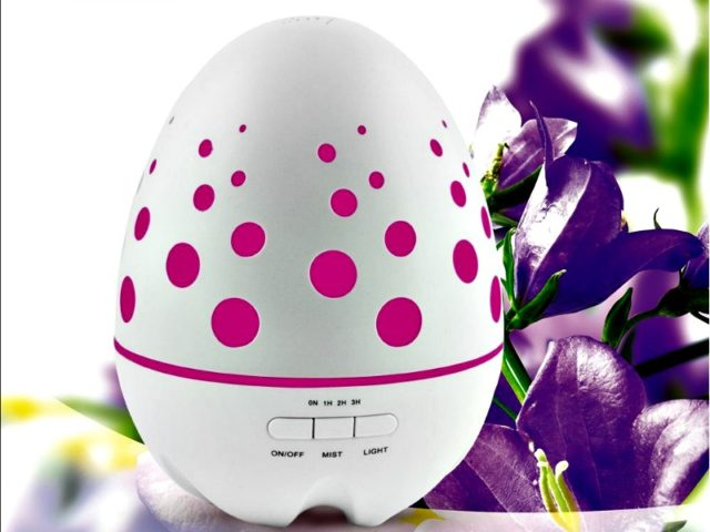 Sensky Ultrasonic Aroma Diffuser Improves your Health and Sleep