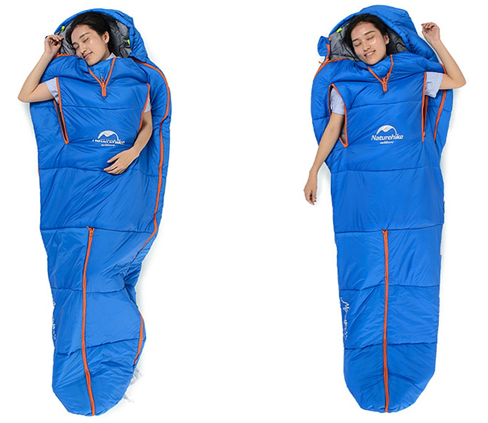 sleep as you wish with the sleeping bag suit getdatgadget. Black Bedroom Furniture Sets. Home Design Ideas
