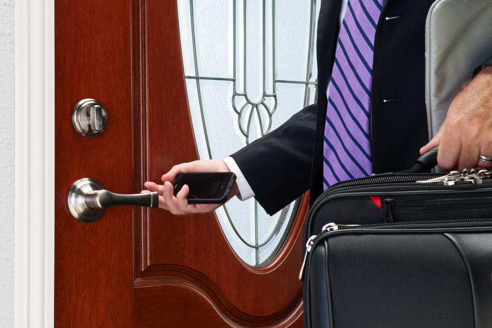 Rotating Push Pull Linkage : Push pull rotate door lock opens different ways