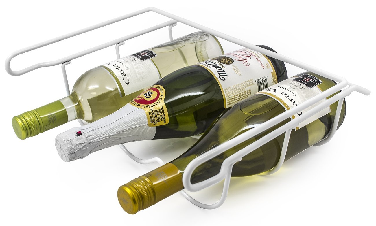 Fridge wine rack