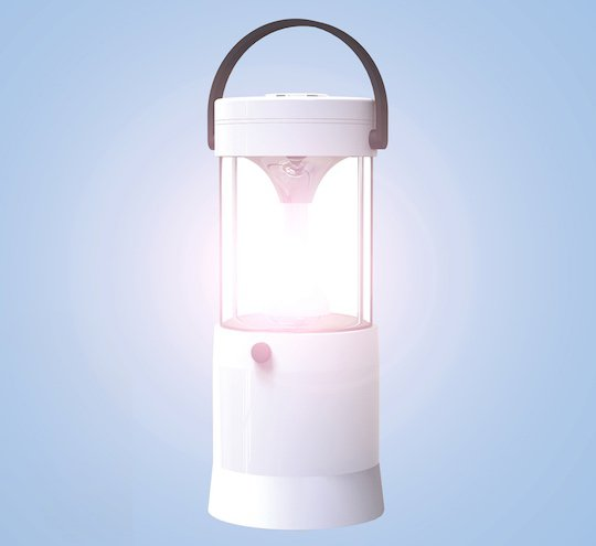 Aqupa Lamp: Powered by Saltwater and Lasts 80 Hours - GetdatGadget