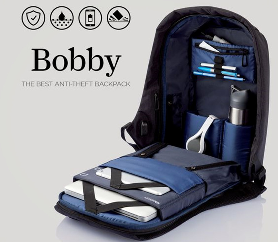 Bobby Anti Theft Backpack Baffles Pickpocketers Getdatgadget