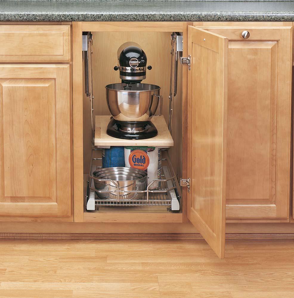 Rev A Shelf Appliance Lift Unique Storage Solution For