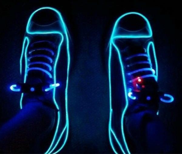 light up the dark with neon el wire getdatgadget wiring neon lights install neon lights under car