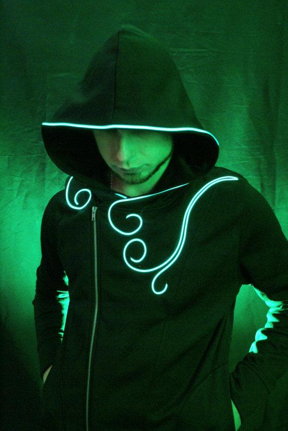 Light up the Dark with Neon EL Wire - GetdatGadget